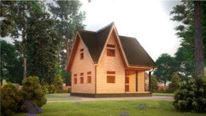 Дом из бруса БСУ-УС 29