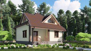 Каркасный дом БСУ-КД 31