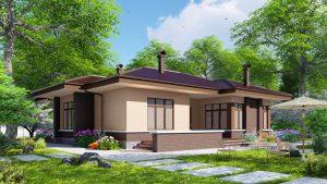 Дом из блоков БСУ-ДБ 1-5