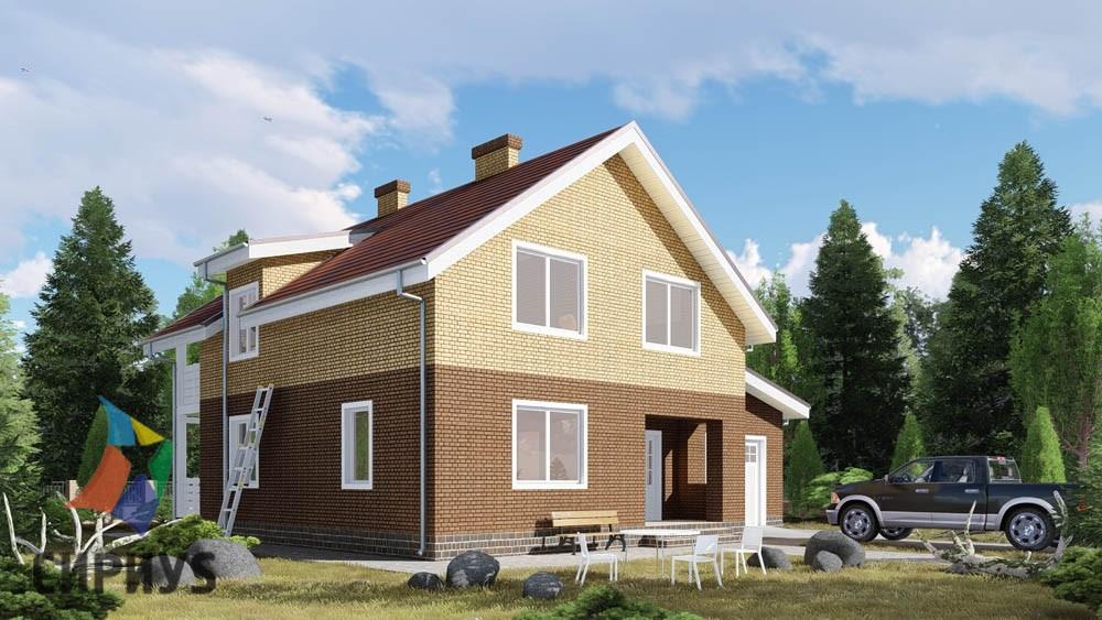 Дом из блоков БСУ-ДБ 18