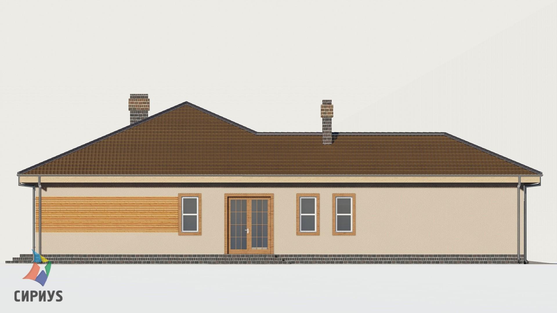 Дом из блоков БСУ-ДБ 1-7