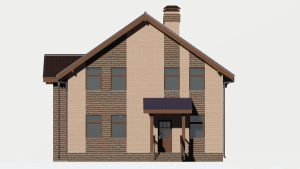 Дом из блоков БСУ-ДБ 16