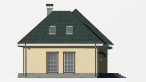 Дом из блоков БСУ-ДБ 20