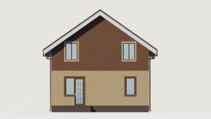 Дом из блоков БСУ-ДБ 1