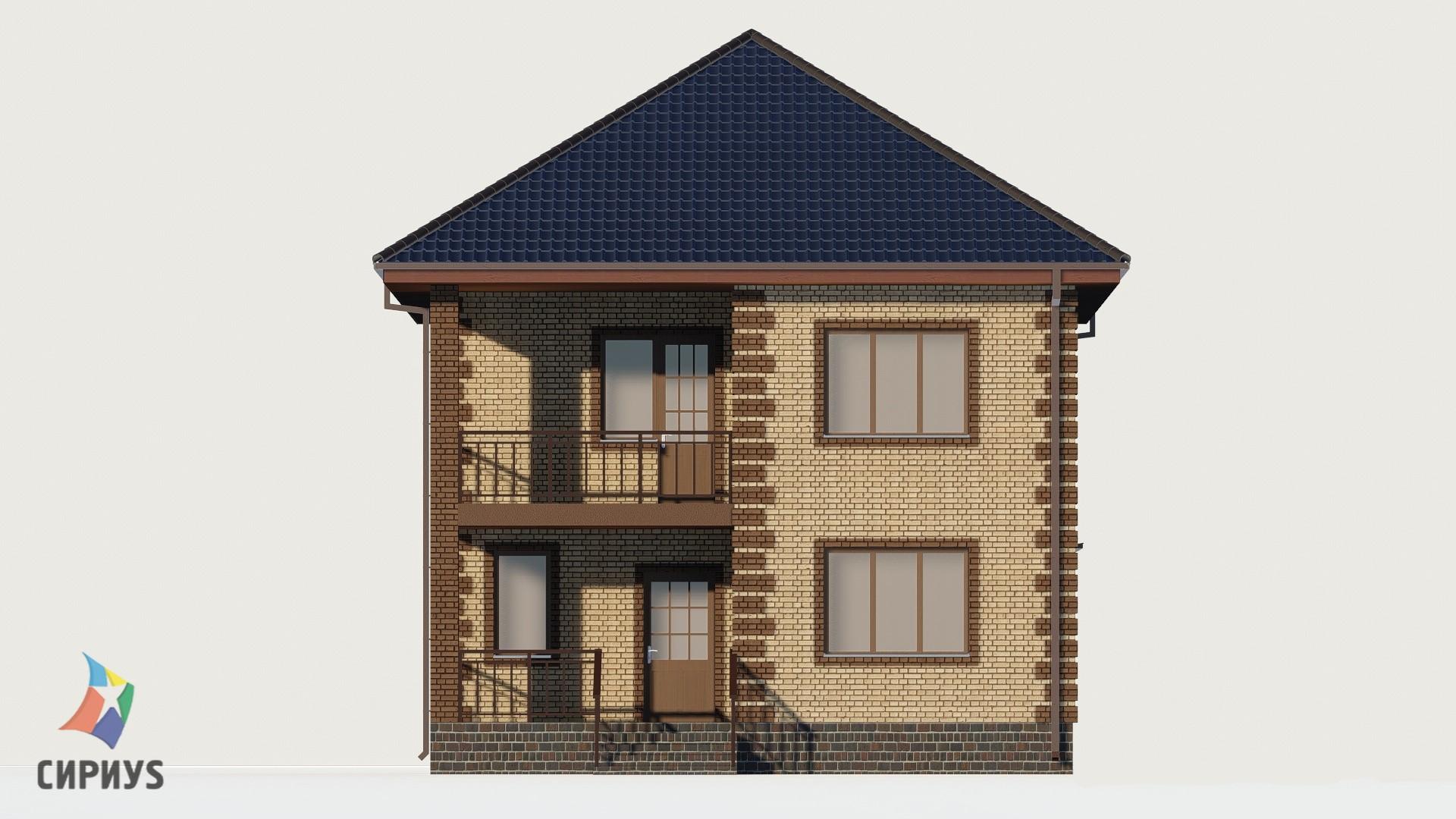 Дом из блоков БСУ-ДБ 9
