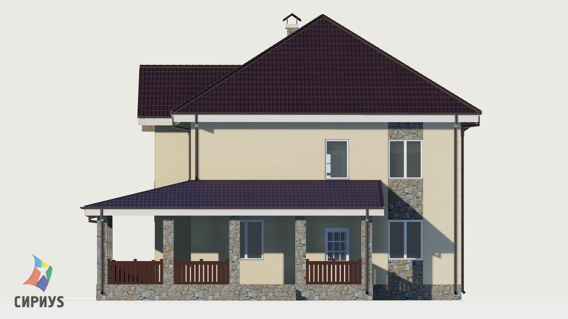 Дом из блоков БСУ-ДБ 26