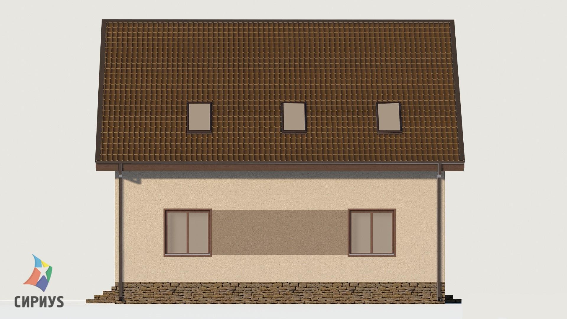 Дом из блоков БСУ-ДБ 36