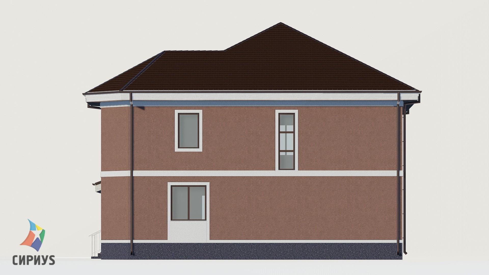Дом из блоков БСУ-ДБ 29