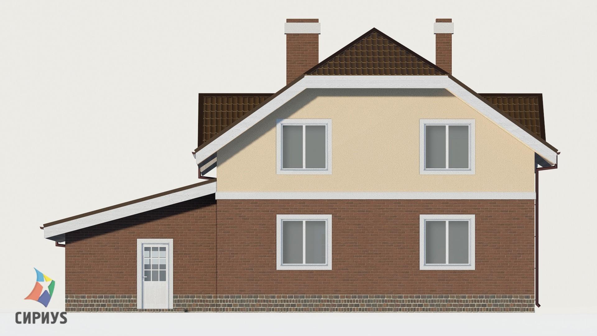 Дом из блоков БСУ-ДБ 34