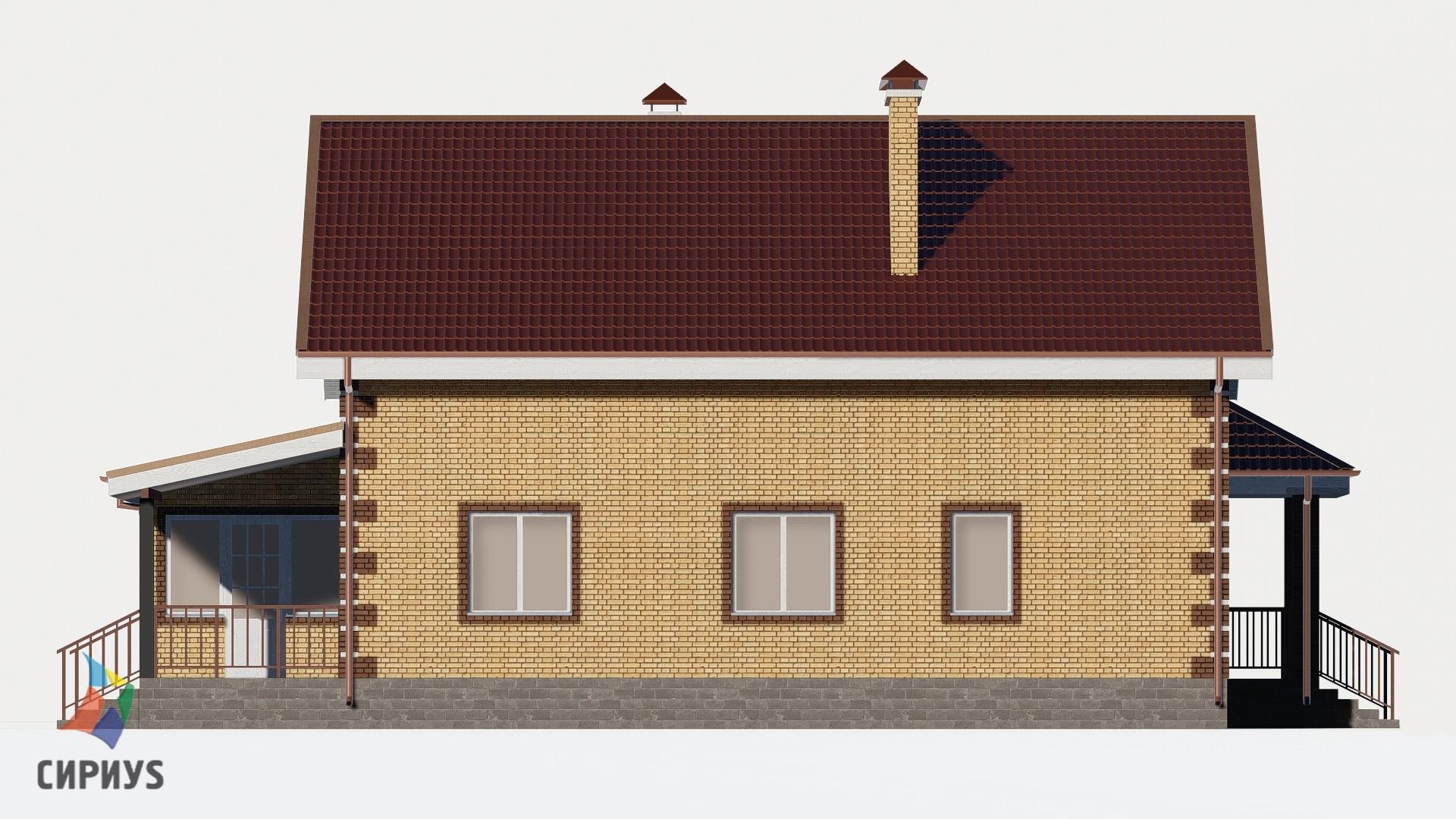 Дом из блоков БСУ-ДБ 25